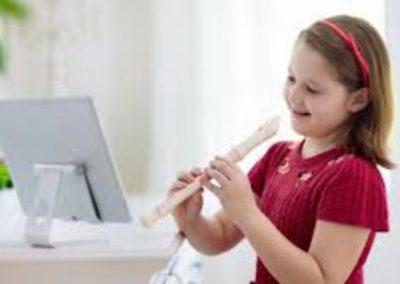 Zobcová sopránová flétna