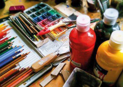 Malování a kreslení